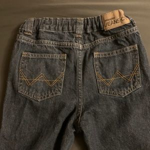Boys Wrangler 4T darker blue jeans- never worn